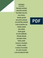 Poema Moviéndome