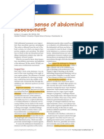 Making Sense of Abdominal Assessment.5