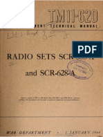 TM 11-620 Radio Sets SCR-620-A and SCR-628-A 1944