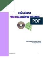 Guia Tecnica Para Evaluacion de Software