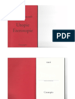 Utopie Eterotopie (2006) Michel Foucault