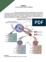 Pd02 Química Estructura Atómica