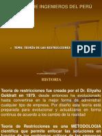 Teoría Restricciones en el metodo precedencias. ppt