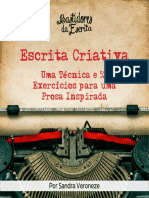 Exercícios de escrita criativa