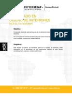 Diplomado en Diseño de Interiores CETYS Mexicali 3 Noviembre 2010
