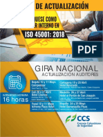 Auditores Internos ISO 45001 2018