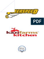 Internship report on Kazi Farms Kitchen