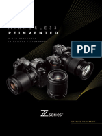 Nikon Z series brochure 2018