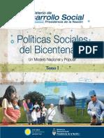 Políticas sociales del bicentenario Tomo 1