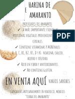 ✓ La más importante fuente de proteínas vegetales provenientes de los cereales.✓ Contiene minerales y vitaminas naturales_ A, B, C, B1, B2, B3, D y K; niacina, calcio, hierro y fósforo.✓ Rico en fibra y antioxidantes-2