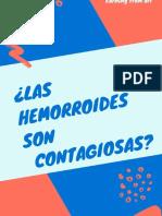 ¿Las Hemorroides Son Contagiosas y Hereditarias?