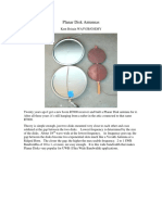 Planar Disk Antennas