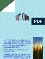 Test Chino