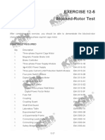 3Locked Rotor Test