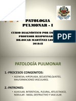 Semana 4 Patologia Pulmonar i Patrones Alveolar e Interticial.