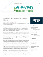 Kundalini Meditation & the Vagus Nerve - Eleven Minute Meds