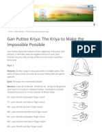 Gan Puttee Kriya_ the Kriya to Make the Impossible Possible