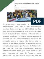 Preconceito Contra Pobres Evidenciado Em Faixas Das Manifestações _ Luizmuller's Blog