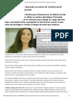 Texto de Juíza Que Desnuda Os Mitos Da 'Meritocracia' Viraliza Nas Redes Sociais
