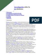Trabajo de investigación sobre la democracia ateniense