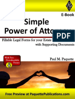 Simple Power of Attorney