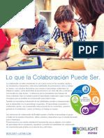 Brochure Aprendizaje Colaborativo