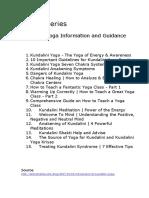Kundalini Yoga guidance