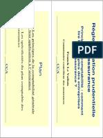 Réglementation Prudentielle. en Assurance. Plan. - I - Les Principes de La Comptabilité Générale Et Leur Application à l Assurance