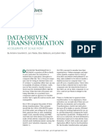 BCG Data Driven Transformation May 2017