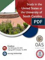2018 OAS - USC Aiken_ Scholarship Announcement