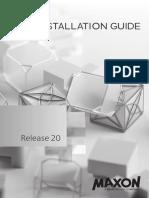 Cinema 4D install guide