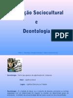 Animação sociocultural e deontologia
