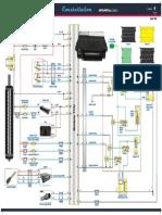 Diagrama Módulo Eletrônico TCU 19 11 PT-NP-A3 Novo Cod MAN
