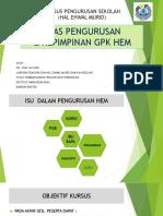Asas Pengurusan & Kepimpinan Gpkhem