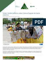 Cultura Popular - UNESC