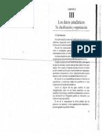 1 Los Datos Estadísiticos, Su Clasificaicón y Organización