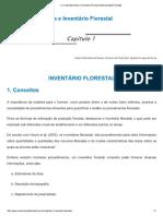 Livro Dendrometria e Inventário Florestal