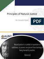 Week 5Principles of Natural Justice