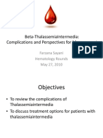 update thalassemia