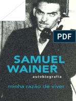 Minha razão de viver - Samuel Wainer