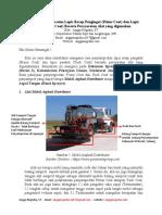 Tata Cara Penyemprotan Prime Coat Dan Tack Coat Beserta Persyaratan Alat Yang Digunakan (Angga Nugraha)