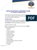AIRCRAFT MAINTENANCE ENGINEERING COURSE