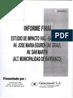 Estudio de Impacto Vial Barranco
