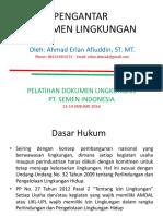 Pengantar Dokumen Lingkungan
