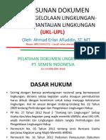 Penyusunan SPPL Dan UKL-UPL