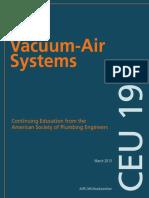 Vaccum Air Systems ASPE CEU 197