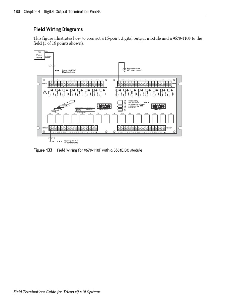 ETP with relay.pdf   Relay   Electronic Circuits Field Wiring on
