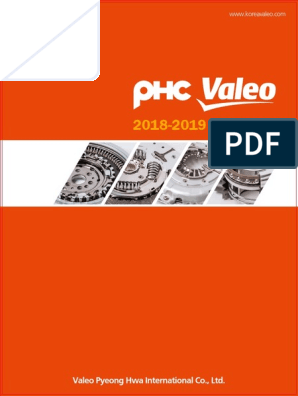 PHC VALEO Clutch Catalogue 2018-2019 | Clutch | Manual ...