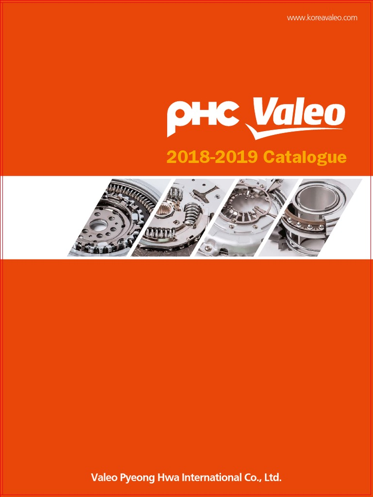 PHC VALEO Clutch Catalogue 2018-2019 | Clutch (605 views)