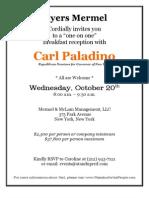 Mermel Paladino Breakfast Invite